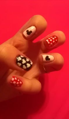 Disney nail art!!!