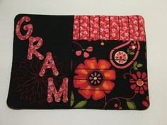 Mug Rug or Candle mat just for GRAM great little by blackbear101, $5.50