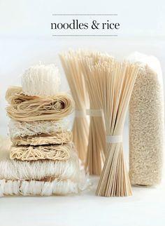 pâtes riz.