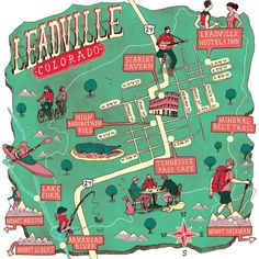 Your travel guide to high-altitude fun in Leadville (see full map below).
