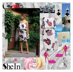 """""""Sheinside IX-7"""" by zijadaahmetovic ❤ liked on Polyvore featuring Christian Louboutin and Sheinside"""