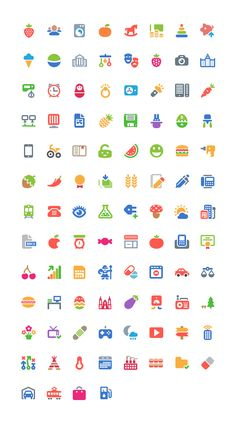 The freebie of the day is a nice set of 100 free colorful icons created by Icojam
