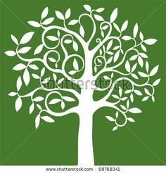 abstract tree symbol of nature by Kalenik Hanna, via ShutterStock