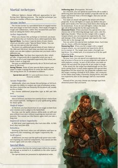 DnD 5e Homebrew — Arcane Archer Fighter by MarcSharma