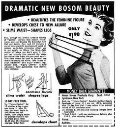Dramatic new bosom beauty.