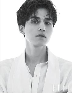 Lee Dong Wook on the Cover of Elle Korea September 2018 Park Hae Jin, Park Hyung, Park Seo Joon, Asian Actors, Korean Actors, Lee Dong Wook Photoshoot, Lee Dong Wook Wallpaper, Lee Dong Wok, Song Joong