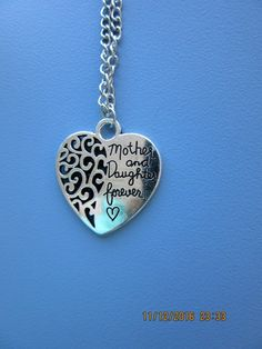 Mother and Daughter Forever❤ Pendant and Chain ❤