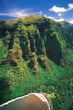 Amazing aerial view on the mountains in Nuku Hiva, Marquesas Islands, French Polynesia. Credit: P. Bacchet