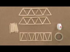 Sturdy Bridge: A Make & Collaborate Project Popsicle Bridge, Popsicle Stick Bridges, Popsicle Stick Crafts, Popsicle Sticks, Diy Crafts Hacks, Diy And Crafts, Crafts For Kids, Arts And Crafts, Craft Stick Projects