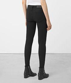 Femmes Grace Jeans (SOFT BLACK) - product_image_alt_text_3