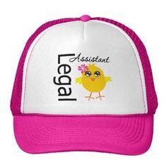 Legal Assistant Chick Hats #legalAssistantChick #administrativeprofessionalsday #appreciationhat