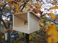 Dřevěné krmítko jako stavebnice 4