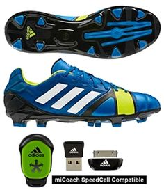 As the younger brother to the 1.0, the Adidas Nitrocharge 2.0 utilizes the EnergySling to enhance comfort throughout the game.  www.soccercorner.com