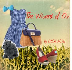 """""""The Wizard of Oz"""" by litchickchic on Polyvore...loving the modern Dorothy look"""