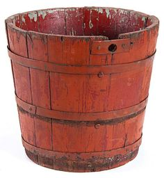 Maple sugaring bucket by Minnesota Historical Society, via Flickr