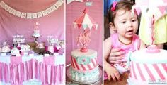 carousel themed party supplies - Google Search