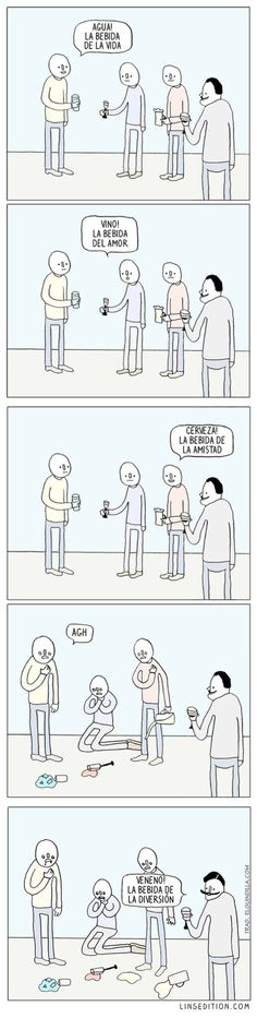 La bebida de la diversión