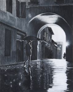 rain on the streets of paris and my heart by akrathan
