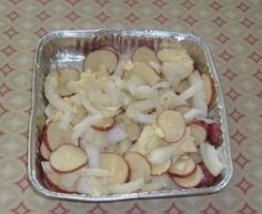 Who says you can't make an entire meal on the smoker? Here's a great little simple potato recipe to add a great smokey flavor to. This recipe should make enough to serve 2 people. The picture shown...