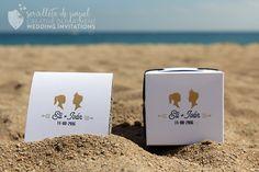 Wedding invite - Invitación de boda - E&I