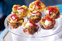 These little frittatas make perfect Christmas party finger food.
