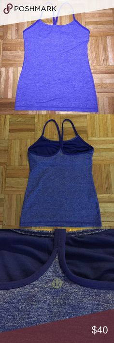 Lululemon Power Y Yoga Top Sapphire Blue The size is 6 lululemon athletica Tops Tank Tops