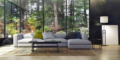 Simple Living Space balanced with Nature by Art Home Garden - Lookbook - Dering Hall