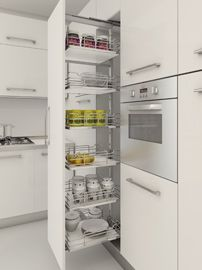 Pull Out Pantry Kitchen Organizers Organization Basket Shelves