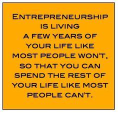 Entrepreneurship. Live it everyday