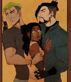 """uhhhh, bodyguard AU in which Hanzo and Genji are bodyguards of famous DJ Lúcio. or something    (i just really wanted to draw lúcio sandwiched between the shimadas, sue me)"" Overwatch Hanzo, Overwatch Memes, Overwatch Comic, Hanzo Shimada, Genji Shimada, Game Art, Shimada Brothers, Character Inspiration, Character Design"