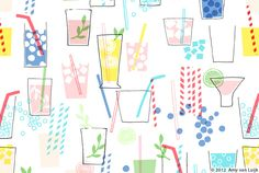 Like the colours - summer & fun Illustration - Amy van Luijk