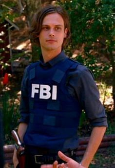 MGG aka Spencer Reid. I think it's the vest that does it for me.