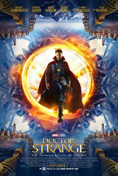 New Movie Posters for Doctor Strange