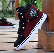 New Red Men's casual shoes High-top sport shoes Athletic Sneakers punk shoes http://uafinder.com/mensshoes/ #shoes #men