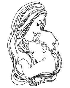 Blog da Delma: Dia das Mães - Desenhos para colorir e algo mais