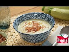 #Crema de #coliflor y #calabacín. La #receta completa, en nuestro blog.