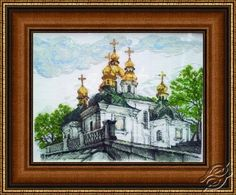 Pechersk Lavra - Cross Stitch Kits by Alisena - 1010