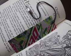 soda can book marker