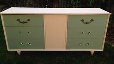 Beachy buffet - $200. Dimensions: 76 cm tall, 155 wide and 46 deep.