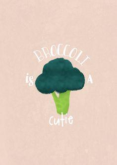 Petite illu perso :)  Mélissandre Samson  #passionbrocoli #brocoli #broccoli #typo #illustration