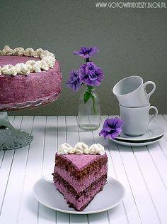 Chocolate Blueberry Cake