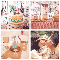 Indian princess boho birthday party via Kara's Party Ideas!