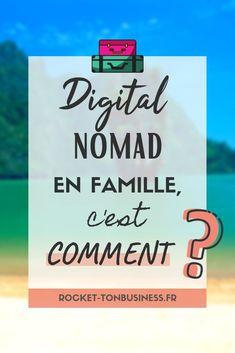 Digital nomad en famille. Je reçois aujourd'hui sur le blog Valérie, digital nomad en famille depuis quelques années. Elle nous raconte sa vie de freelance à l'étranger, son avis sur l'expatriation en famille, les grands bonheurs comme les petits malheurs. Si travailler à l'étranger te dirait bien, fonce lire son témoignage !