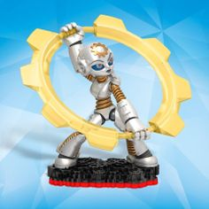Here is the newly announced Tech Element SkyLanders Trap Team Trap Master figure Gearshift!!