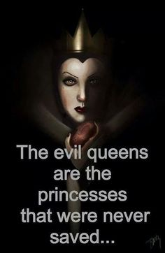 Evil queens - I never thought of it that way but it kinda makes sense. -- well we don't need saving, I think it's more every evil queen had a horrible past and that's all she knew >>> a villain is a victim whose story hasn't been told Disney Pixar, Art Disney, Disney Memes, Disney Villains, Disney And Dreamworks, Disney Love, Disney Magic, Funny Disney, Disney Stuff
