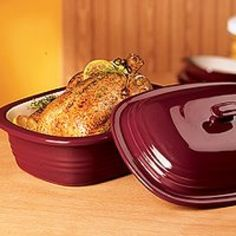 Microwave Dinner Recipes. The Pampered Chef Deep Covered Baker.