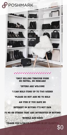 ~CLOSET GUIDELINES~ THANK YOU FOR CHECKING OUT MY CLOSET 💋 Other