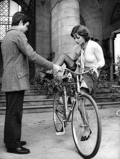 Malizia < on the bicycle
