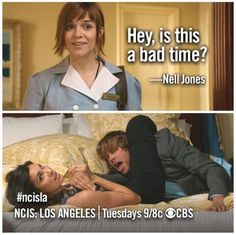 #ncisla They were fighting; that looks awkward