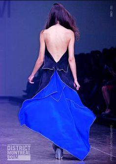 MARTIN LIM Backless, Dresses, Fashion, Vestidos, Moda, Fashion Styles, Dress, Fashion Illustrations, Gown